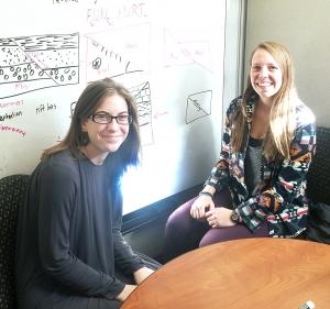 kyera mccrimmon tutoring client and morgan baker her tutor